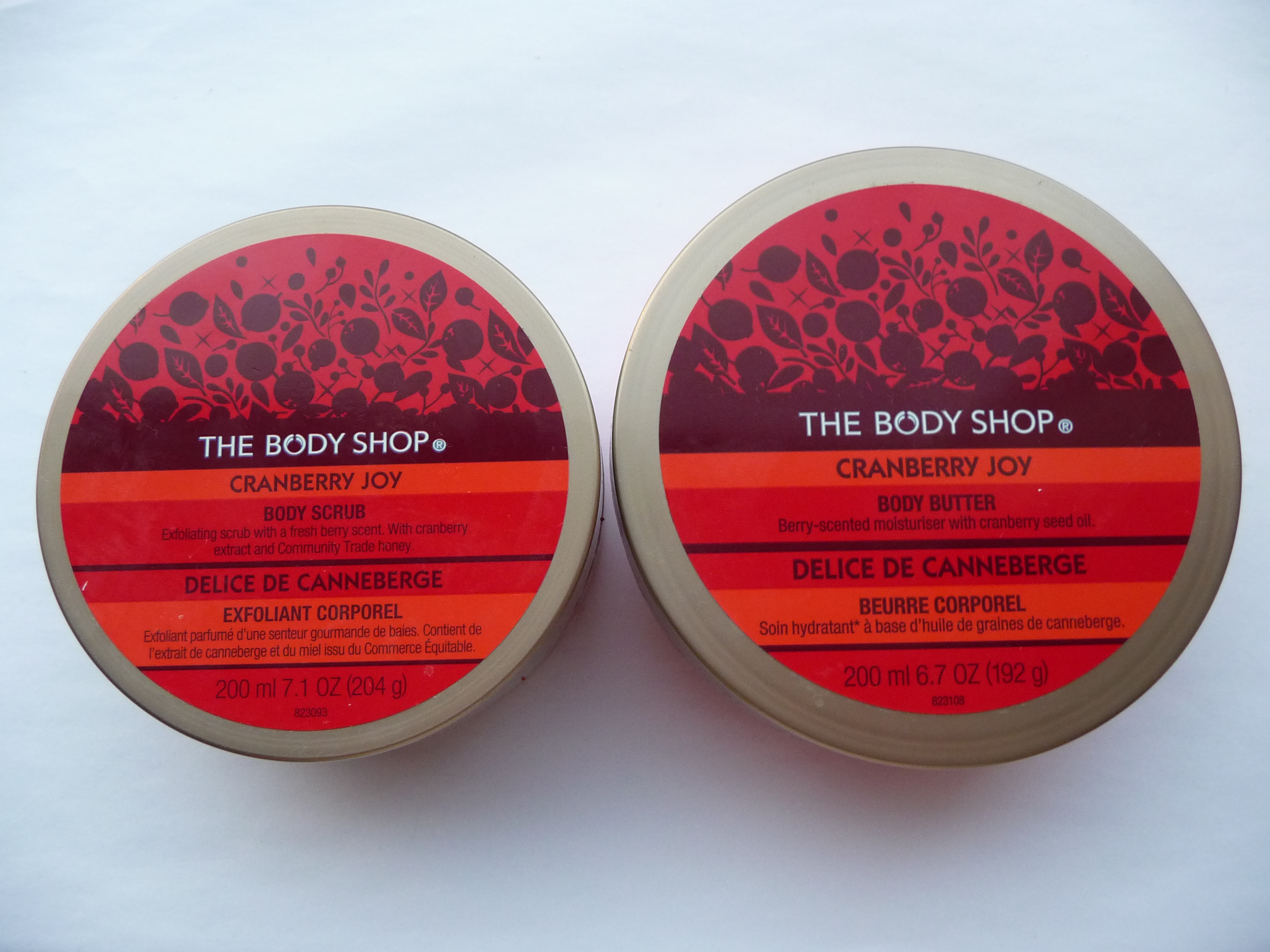 The Body Shop - Cranberry Joy